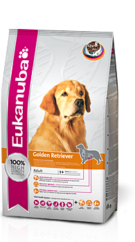 Корм для собак и другая продукция — Золотистый ретривер — Eukanuba — Великобритания